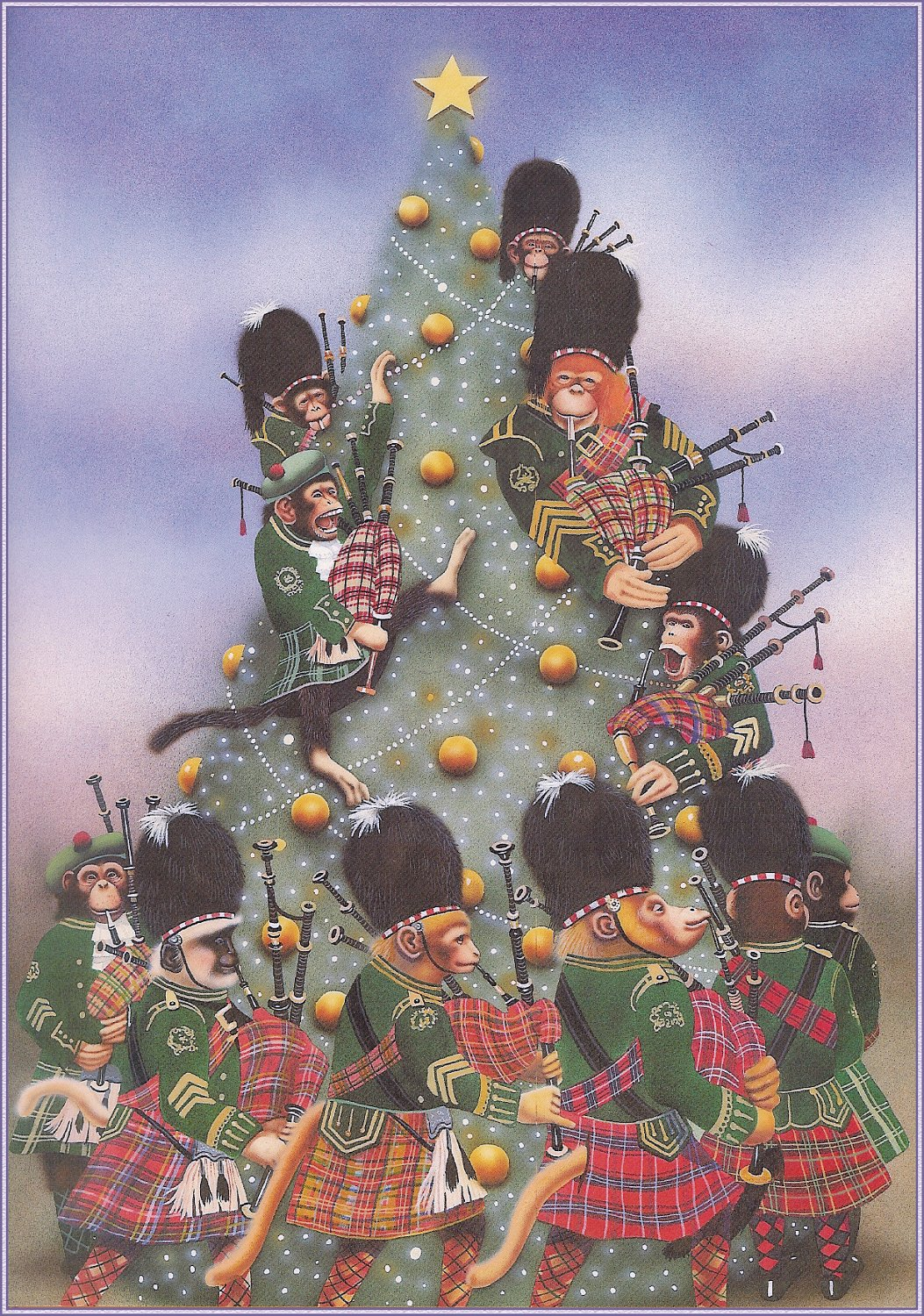 Meaning of 12 days of christmas -  Pipers Piping 12 Days